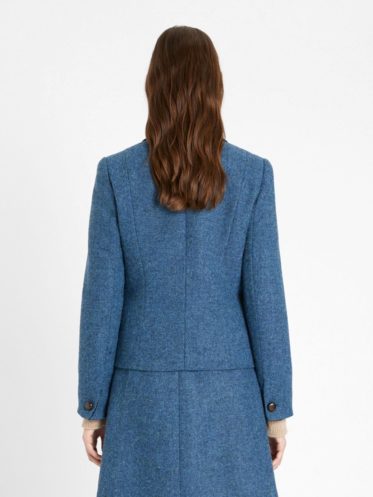 Harris Tweed wool jacket Weekend Maxmara