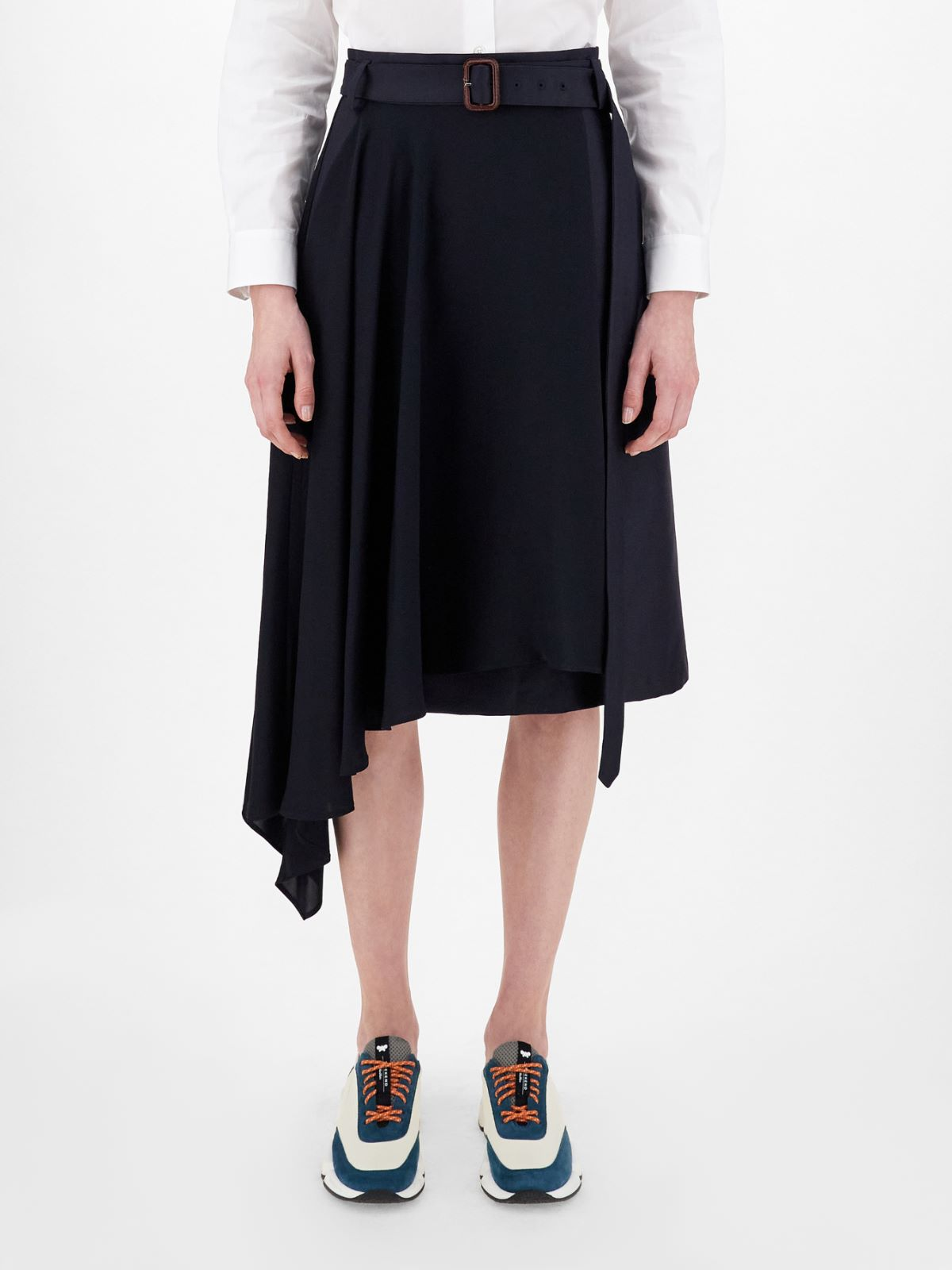 Cotton twill and cady skirt Weekend Maxmara
