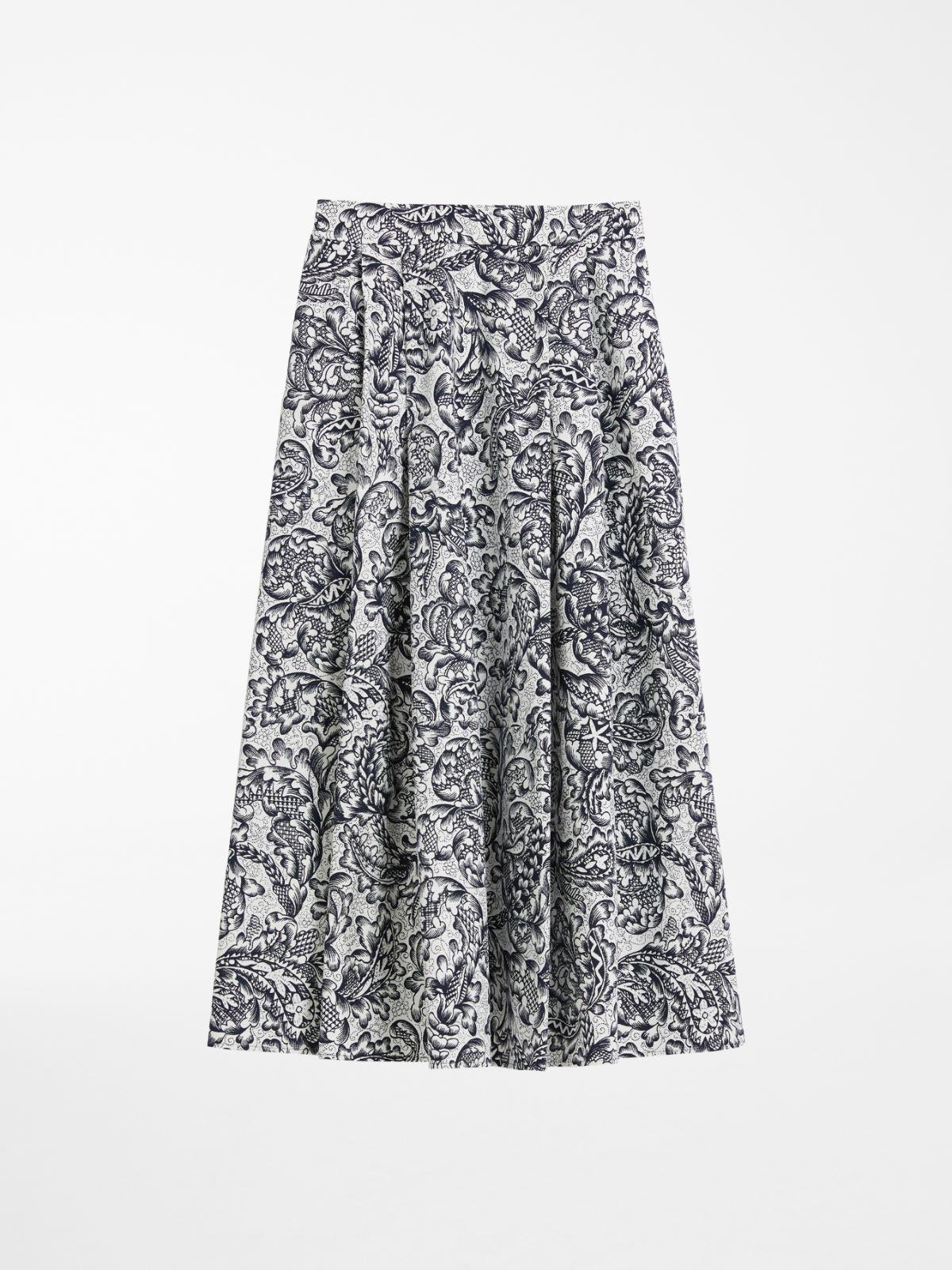 Cotton faille skirt Weekend Maxmara