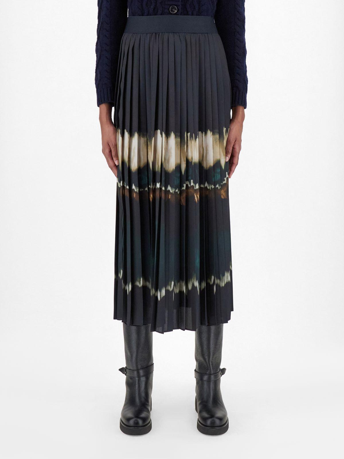Pleated technical twill skirt Weekend Maxmara
