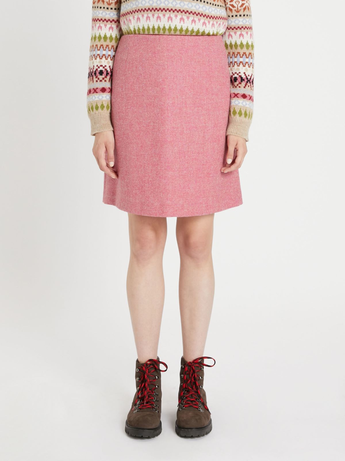 Harris Tweed wool skirt Weekend Maxmara
