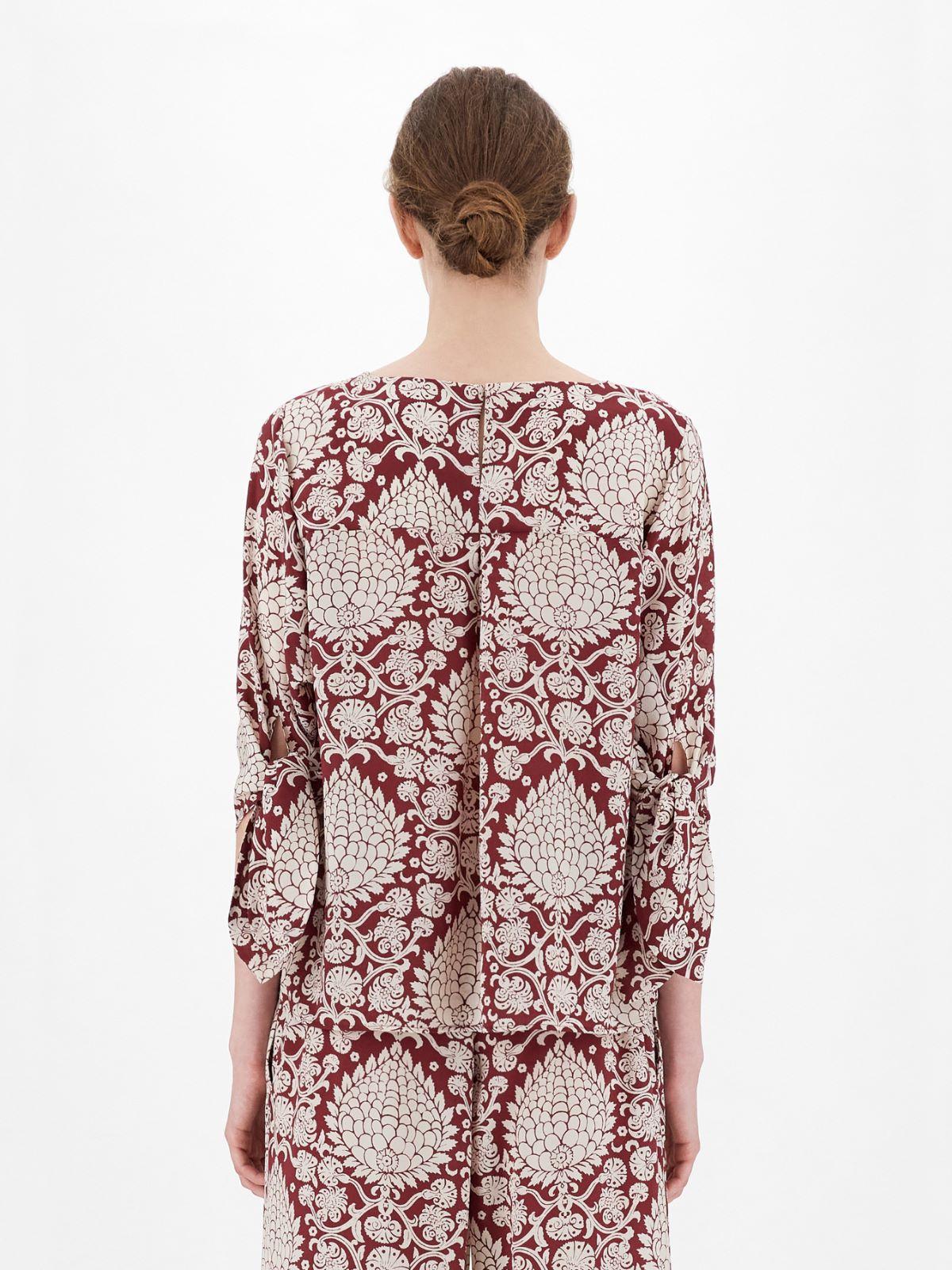 Silk crepe de chine blouse Weekend Maxmara