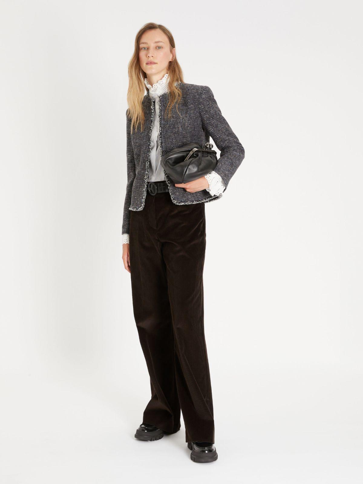 Cotton velvet trousers Weekend Maxmara