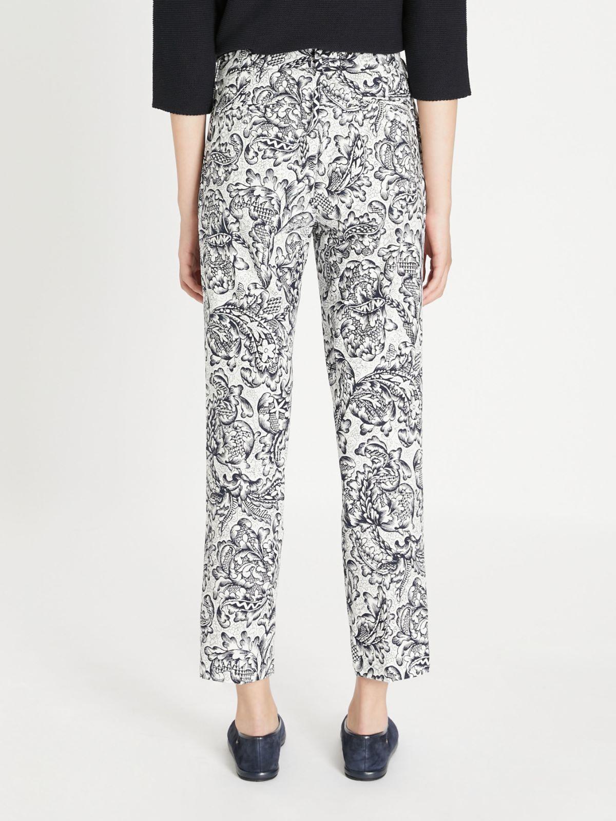 Cotton faille trousers Weekend Maxmara