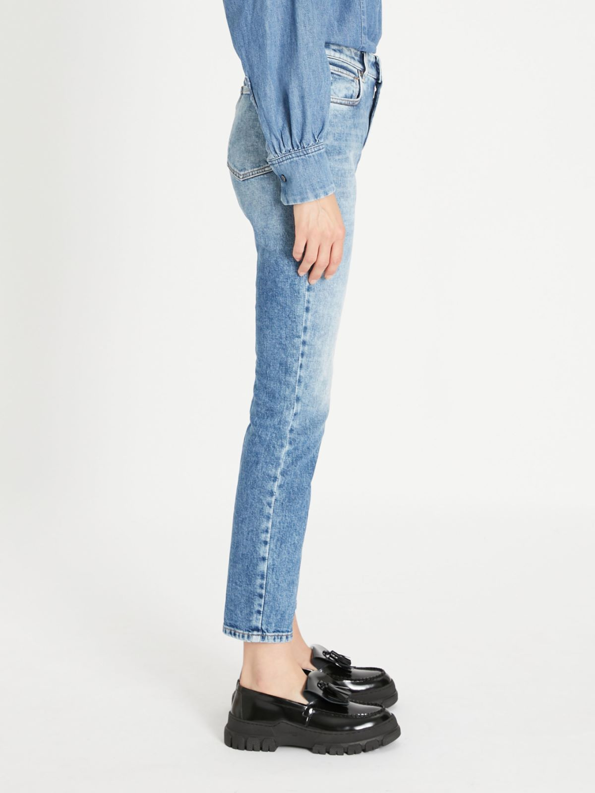 Denim cropped jeans Weekend Maxmara