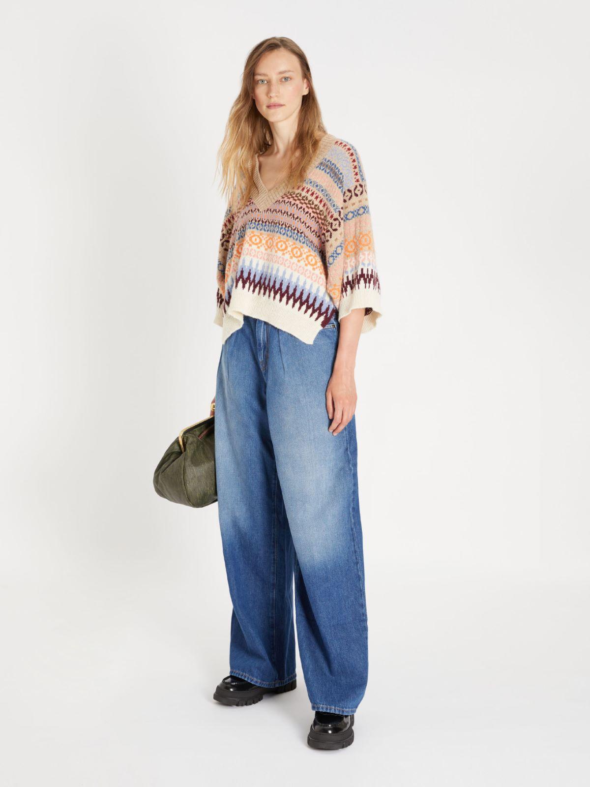 Straight-fit cotton denim jeans Weekend Maxmara