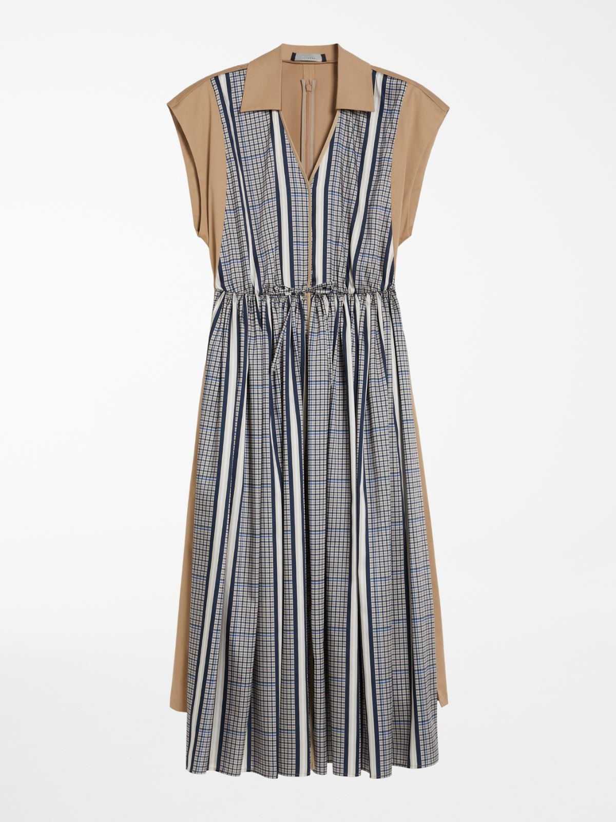 Technical twill and cotton dress Weekend Maxmara