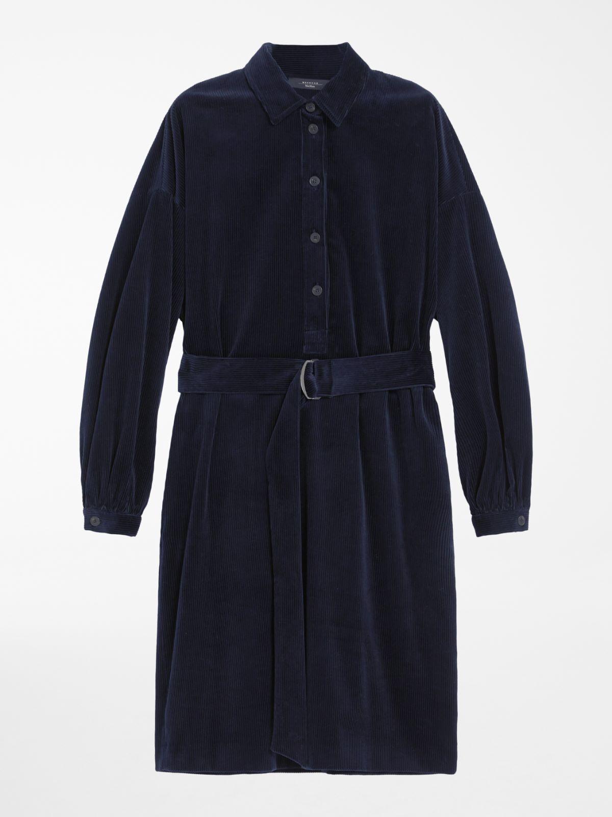 Cotton velvet dress Weekend Maxmara