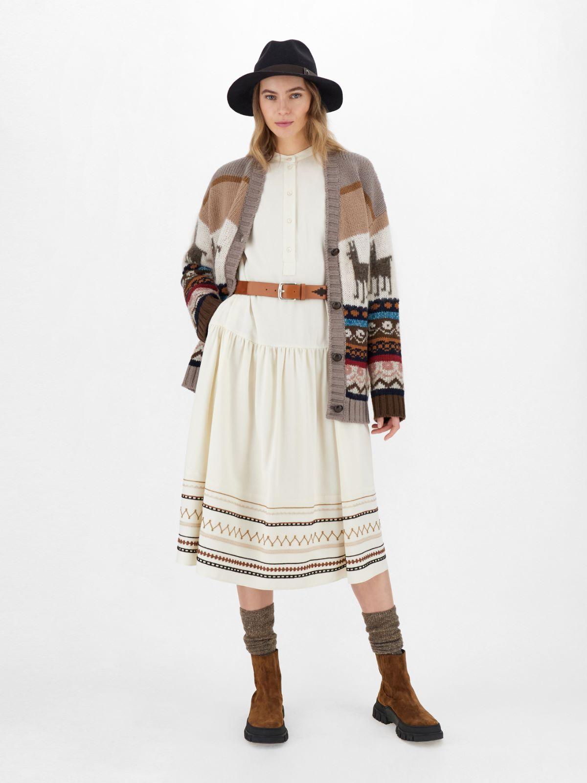 Grisaille wool-blend dress Weekend Maxmara