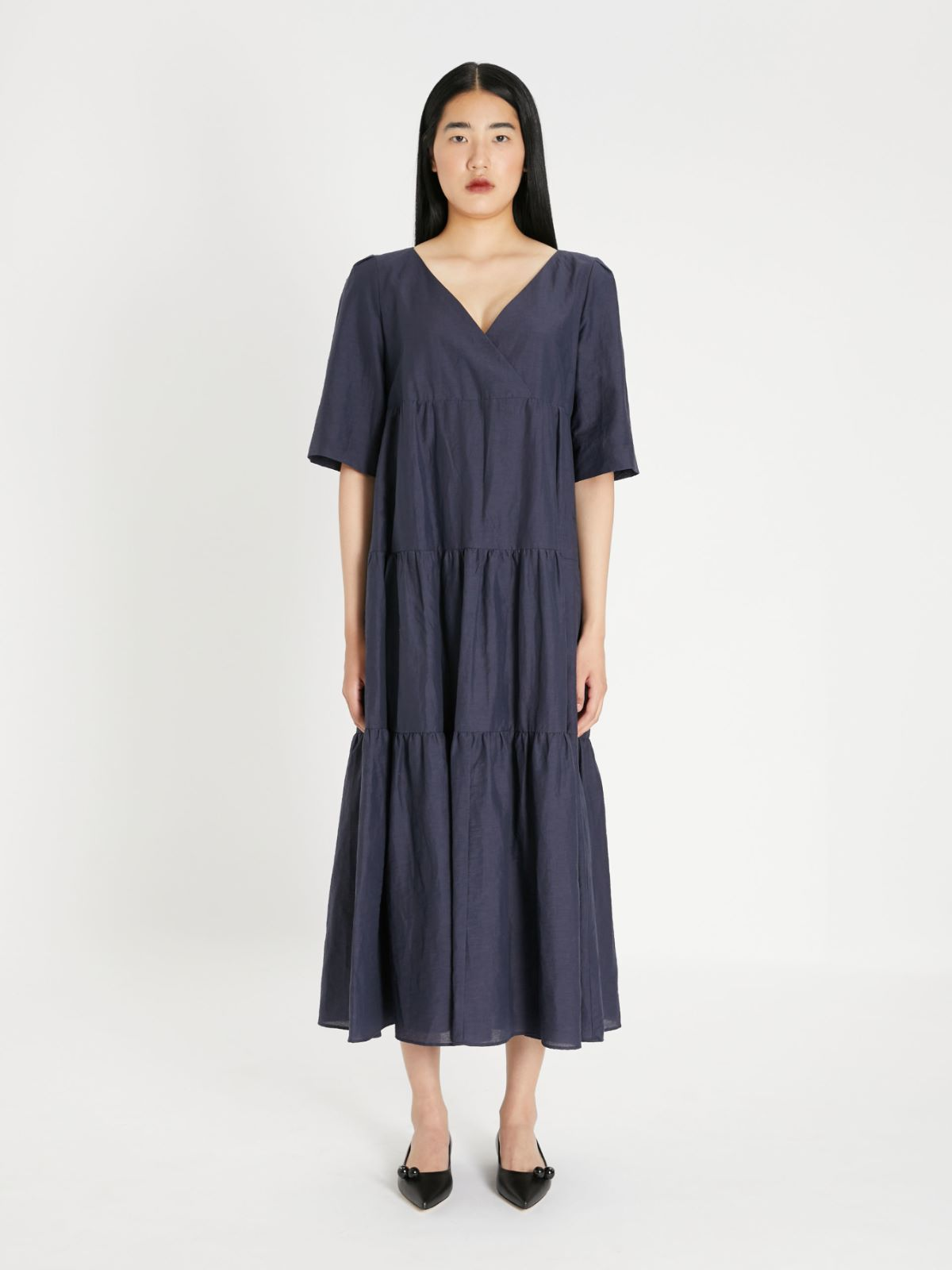 Linen fabric dress Weekend Maxmara