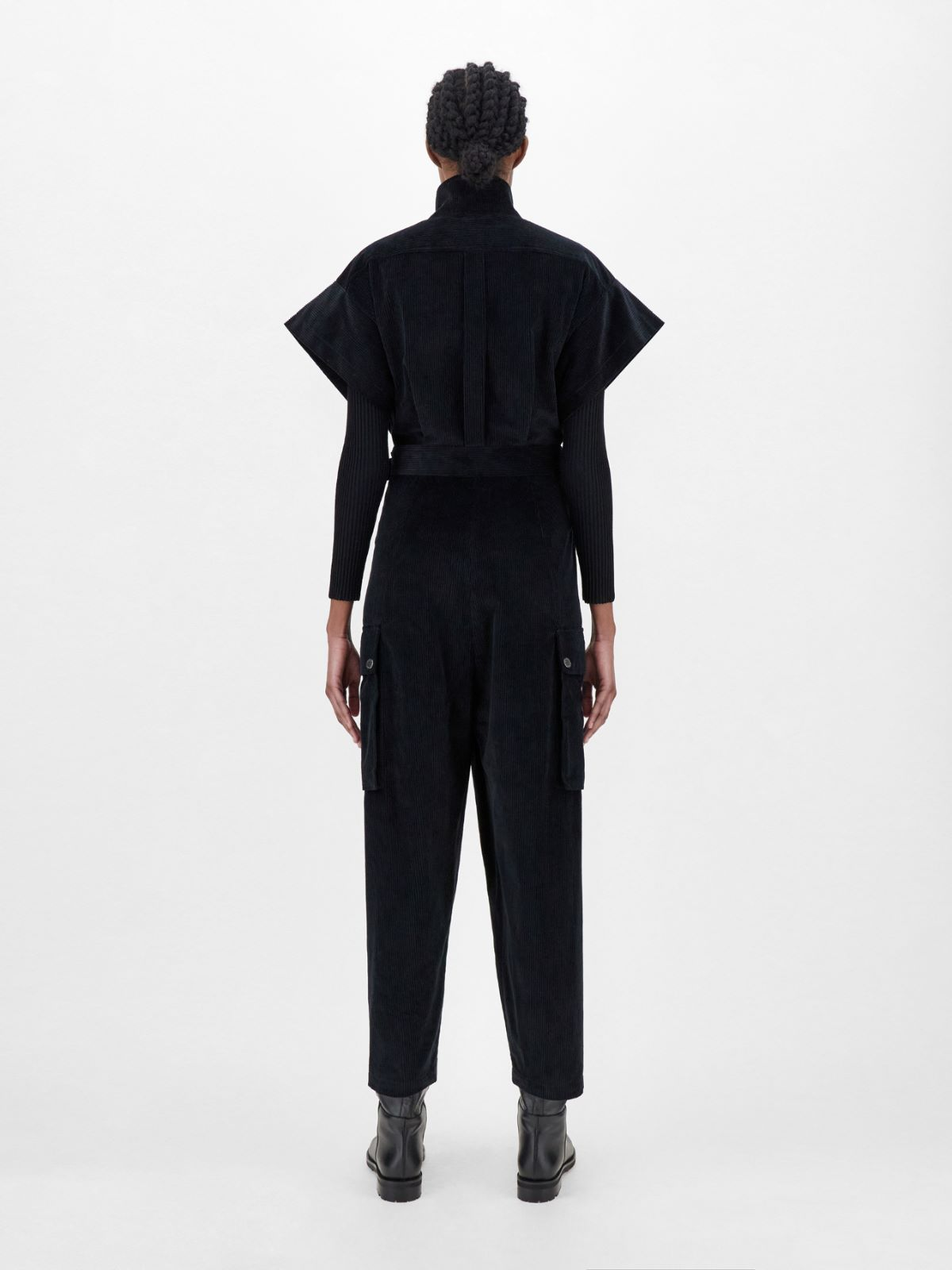 Cotton velvet jumpsuit Weekend Maxmara