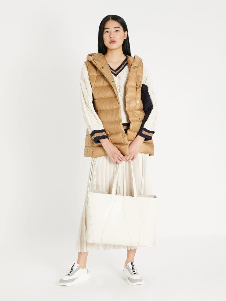 Water-repellent fabric gilet Weekend Maxmara