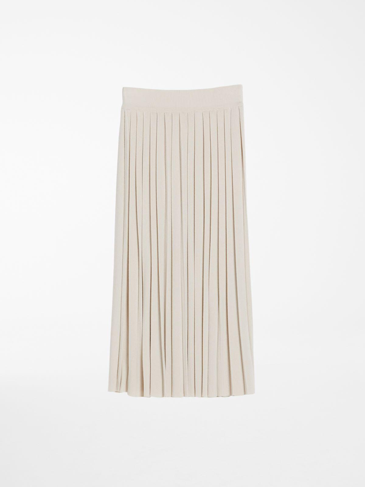 Pleated wool and viscose skirt Weekend Maxmara