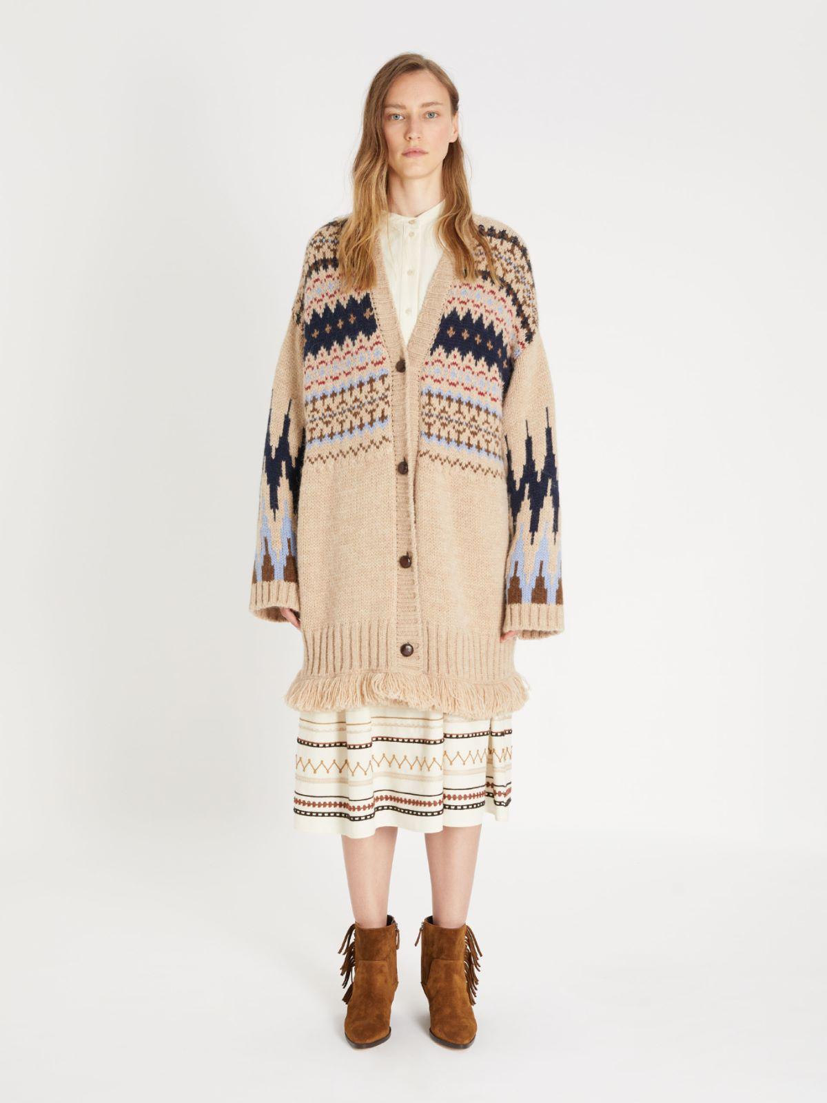 Alpaca and wool cardigan Weekend Maxmara