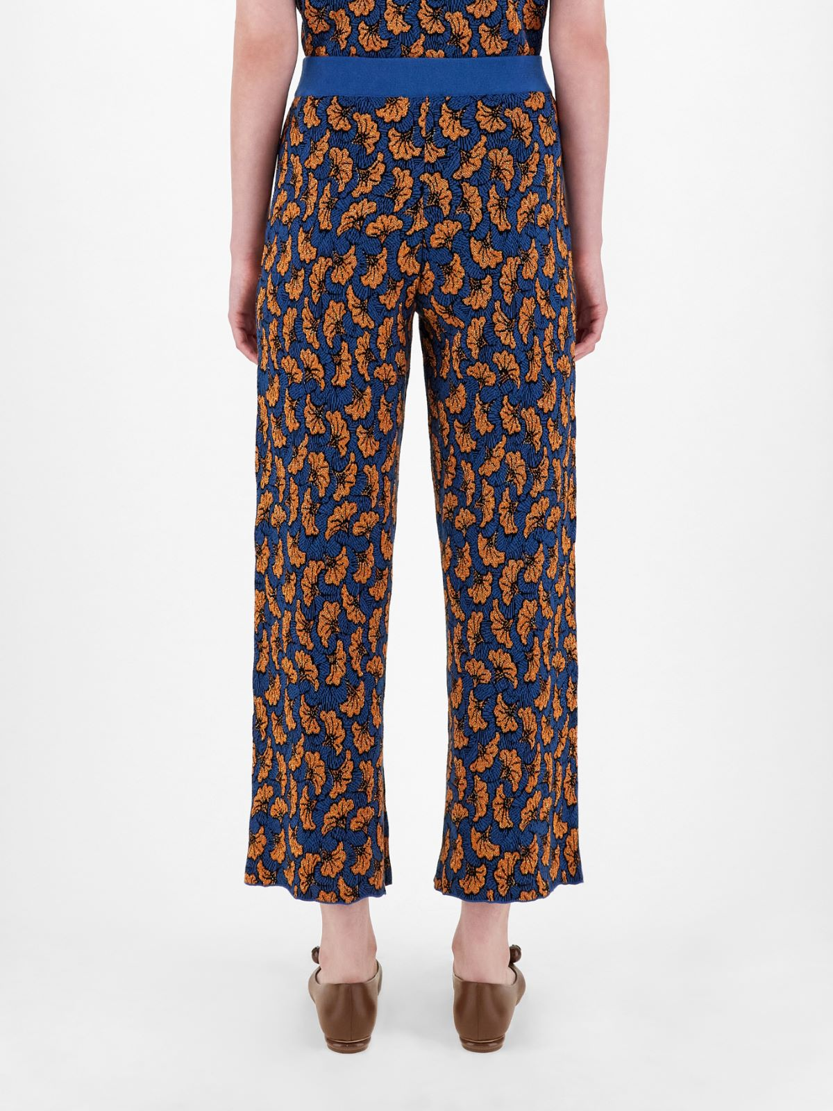 Jacquard yarn trousers Weekend Maxmara