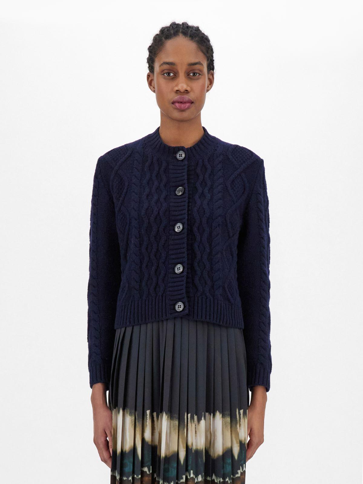 Wool yarn cardigan Weekend Maxmara