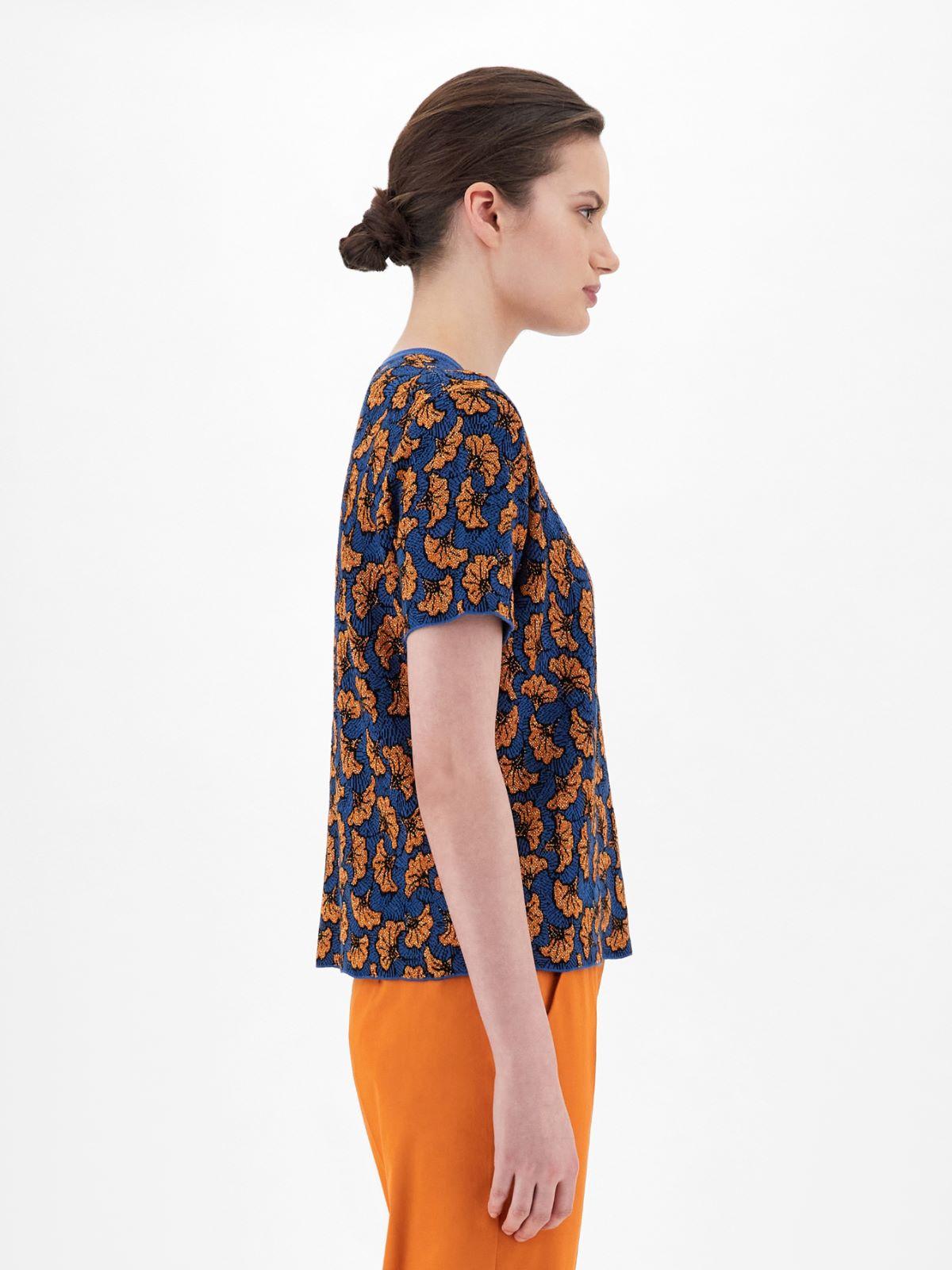 Viscose jacquard T-shirt Weekend Maxmara