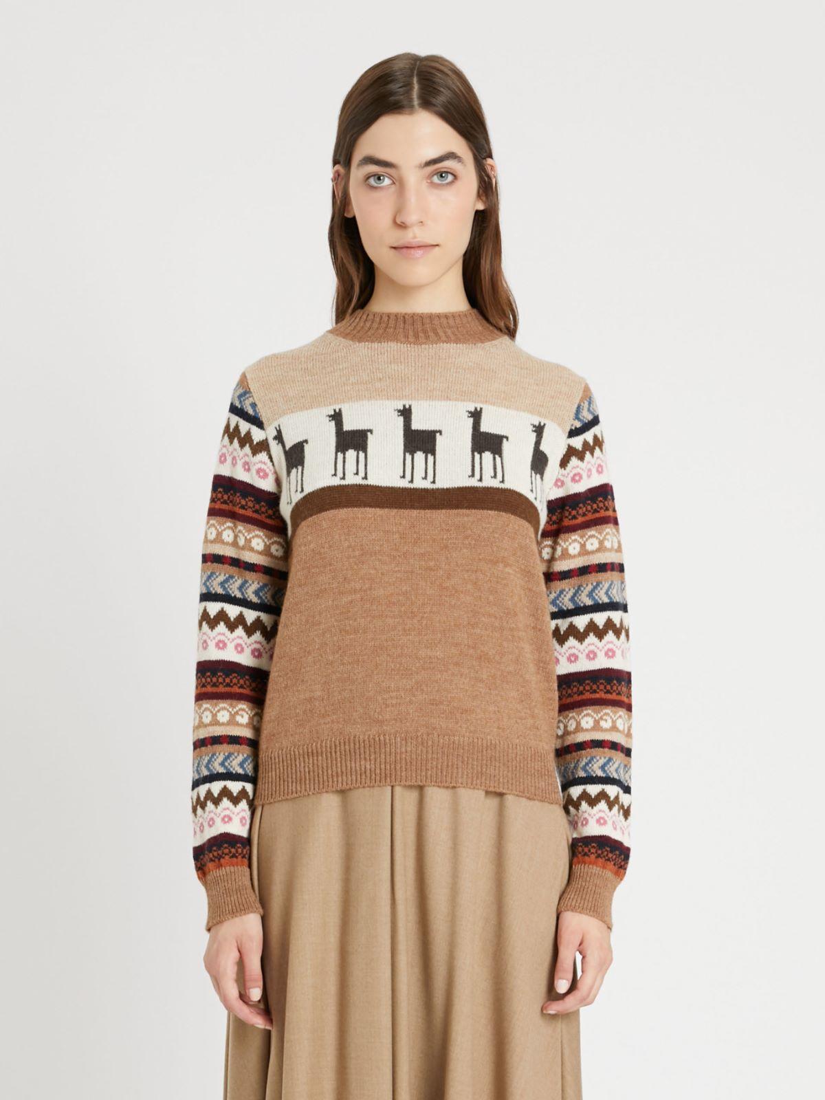 Wool and alpaca yarn sweater Weekend Maxmara