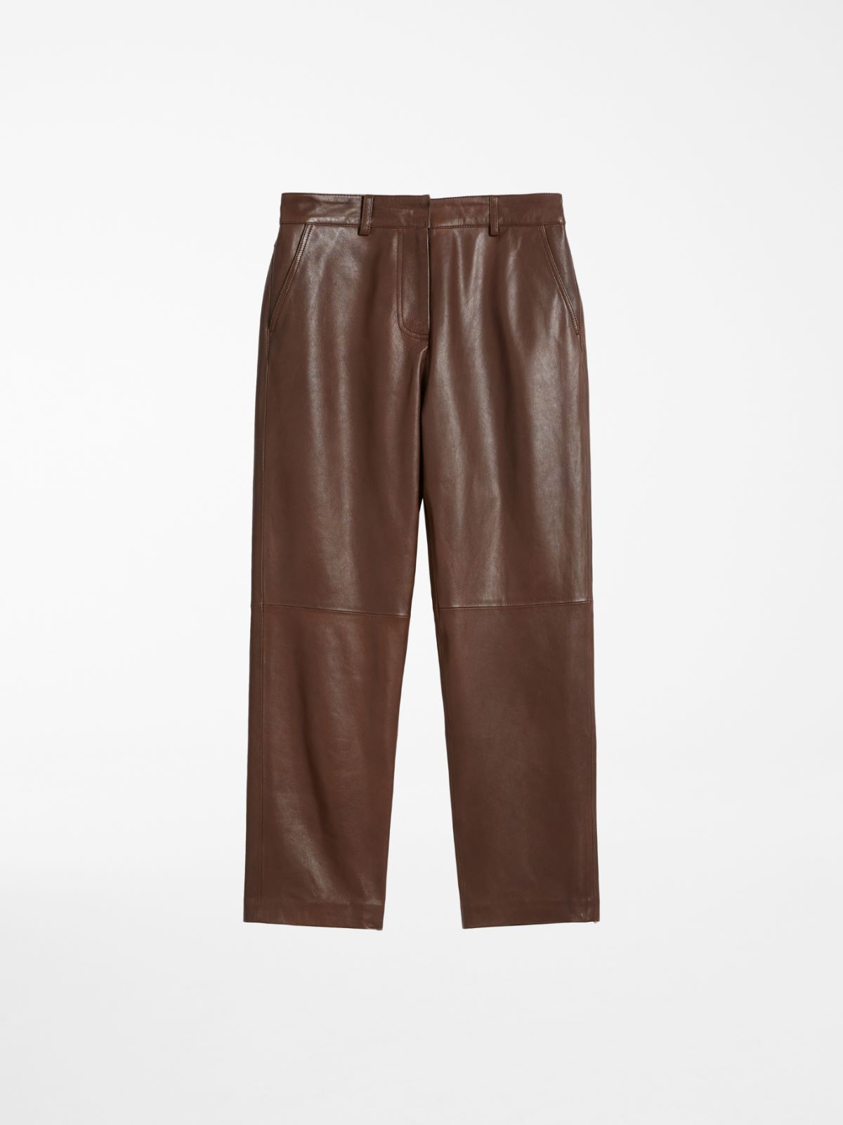 Nappa leather trousers Weekend Maxmara