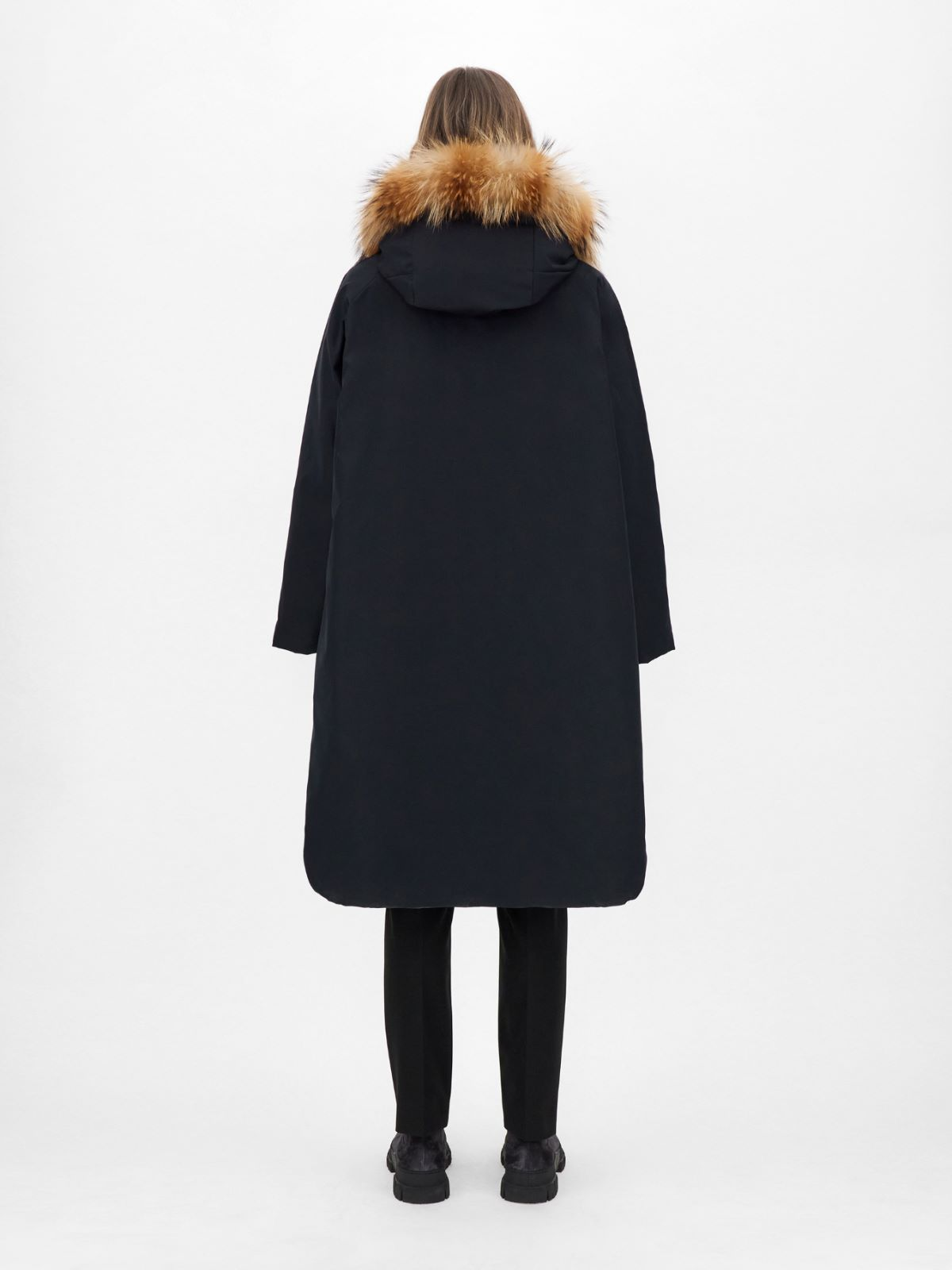 Reversible water-repellent fabric coat Weekend Maxmara