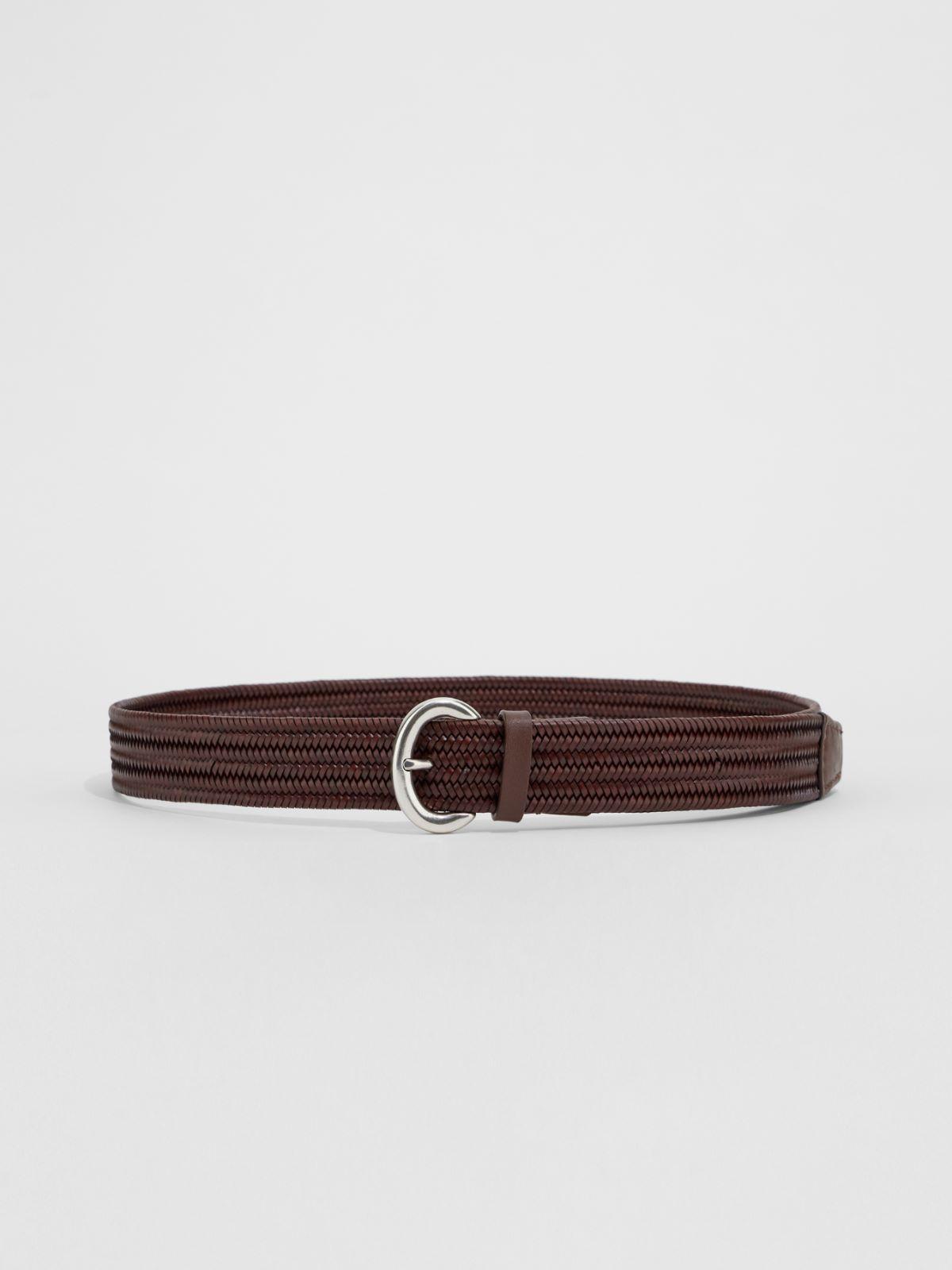 Braided leather belt Weekend Maxmara