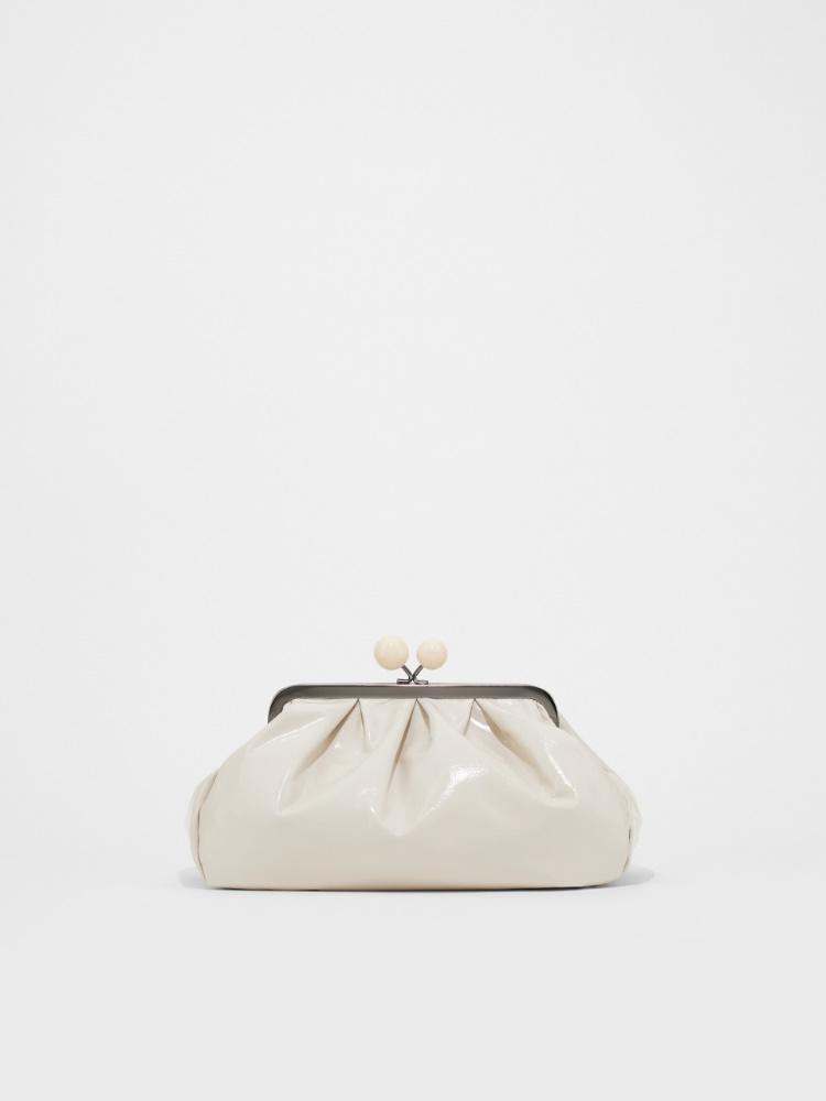 Pasticcino Bag in pelle effetto vernice Weekend Maxmara