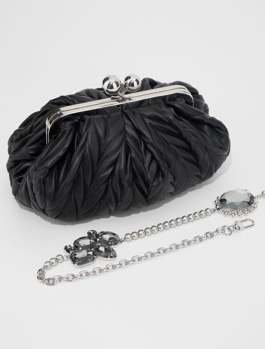 Small pleated fabric Pasticcino bag Weekend Maxmara