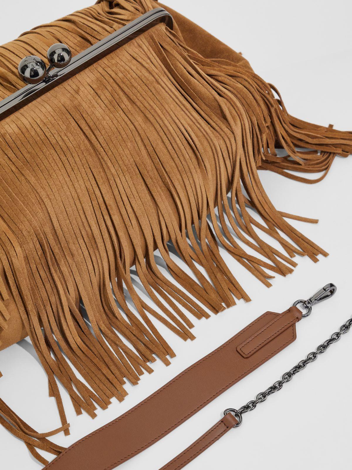 Large suede Pasticcino Bag Weekend Maxmara