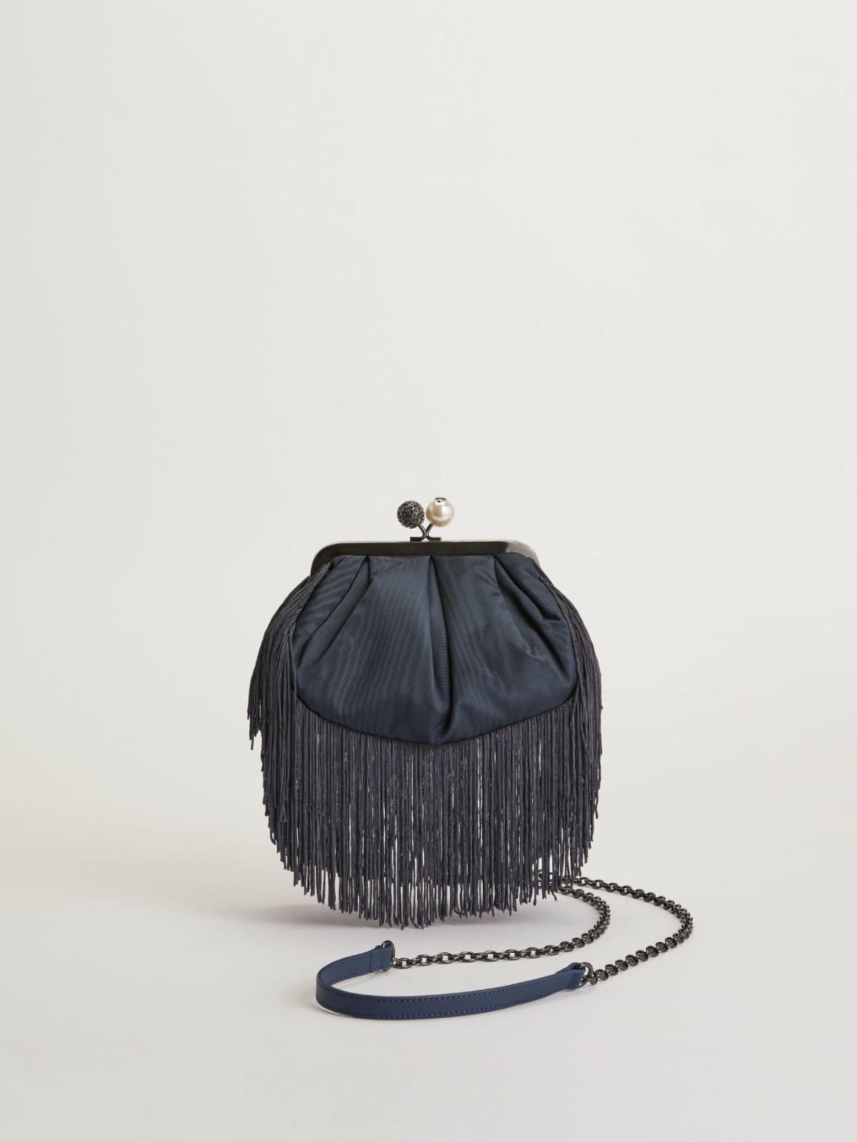 Small moire fabric Pasticcino Bag Weekend Maxmara