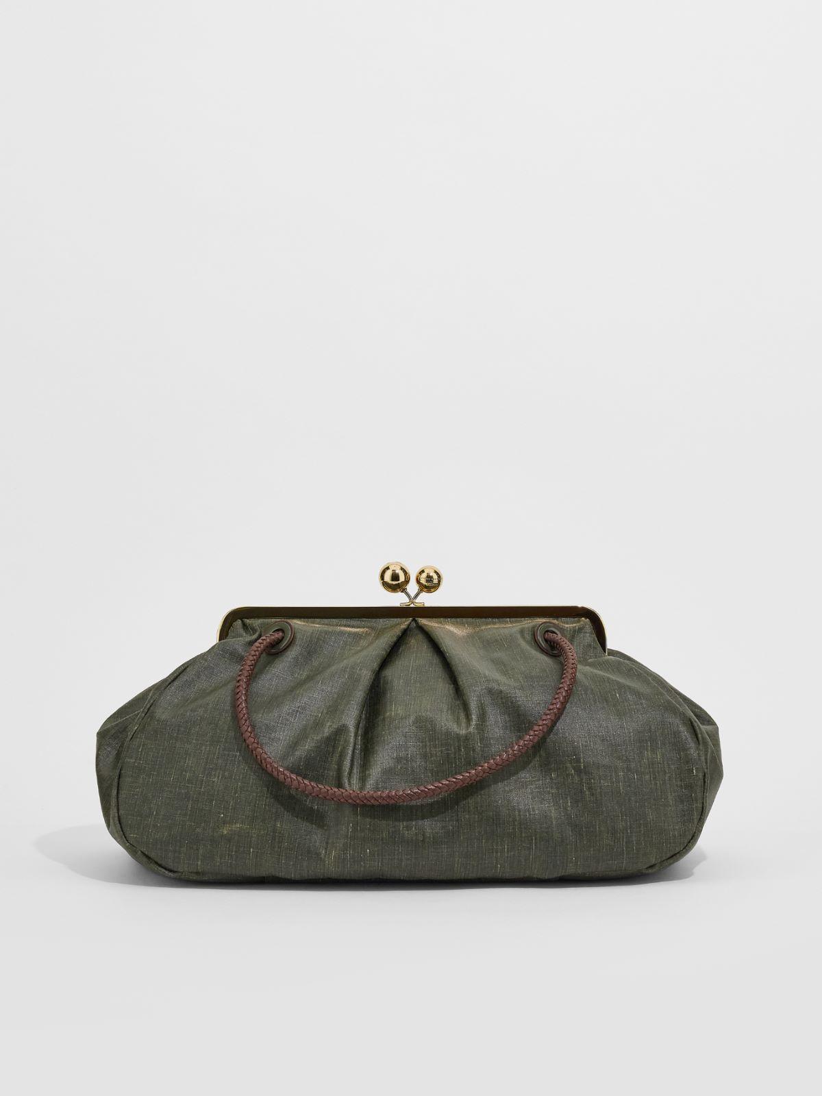 Large waxed slub fabric Pasticcino Bag Weekend Maxmara
