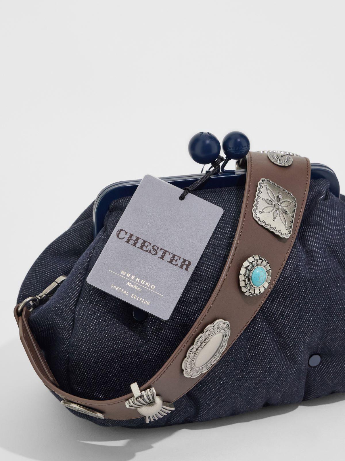 Medium denim-effect Pasticcino Bag Weekend Maxmara