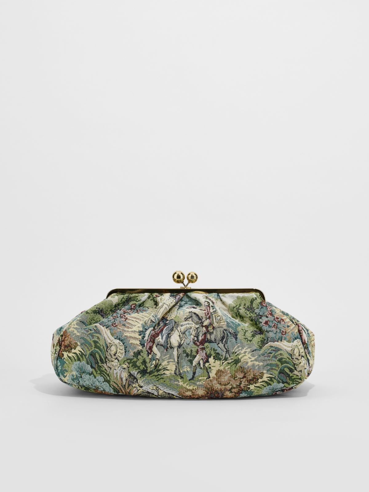 Large jacquard fabric Pasticcino Bag Weekend Maxmara