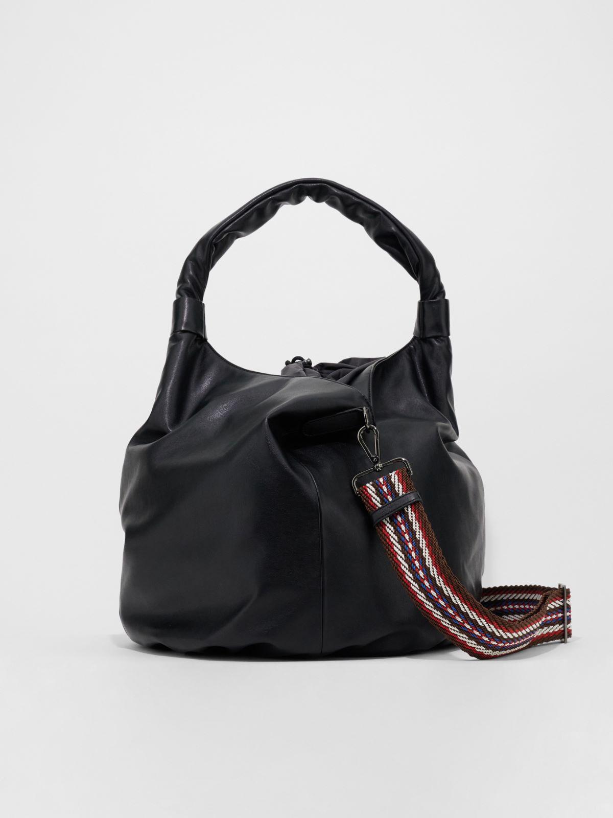 Large saddlebag in nappa effect fabric Weekend Maxmara