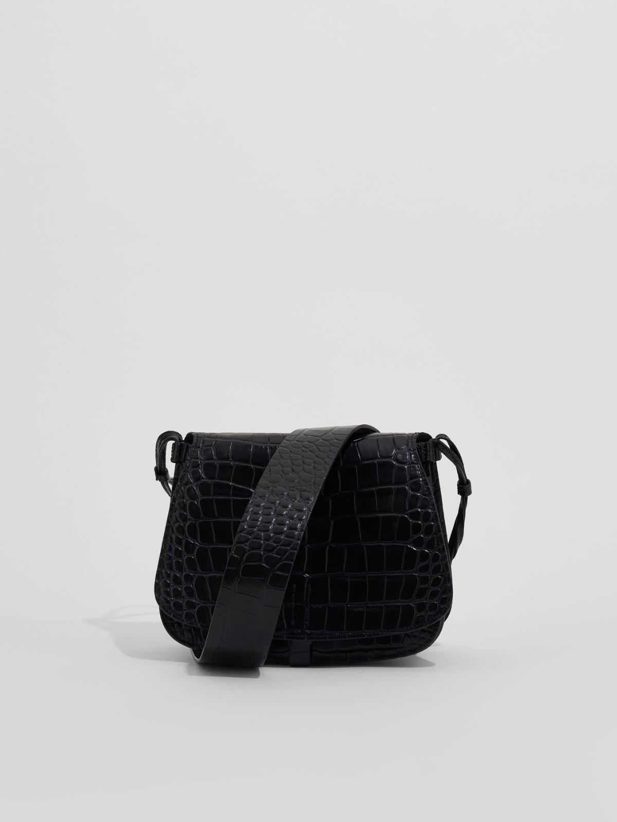Crossbody bag in crocodile print leather Weekend Maxmara