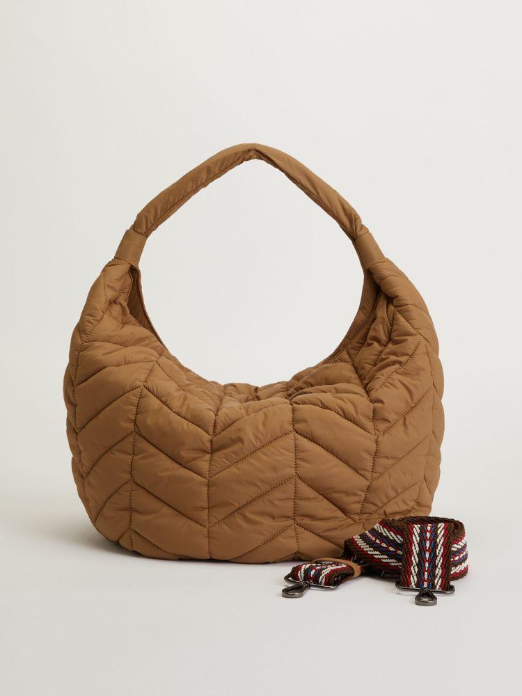 Large quilted nylon saddlebag Weekend Maxmara