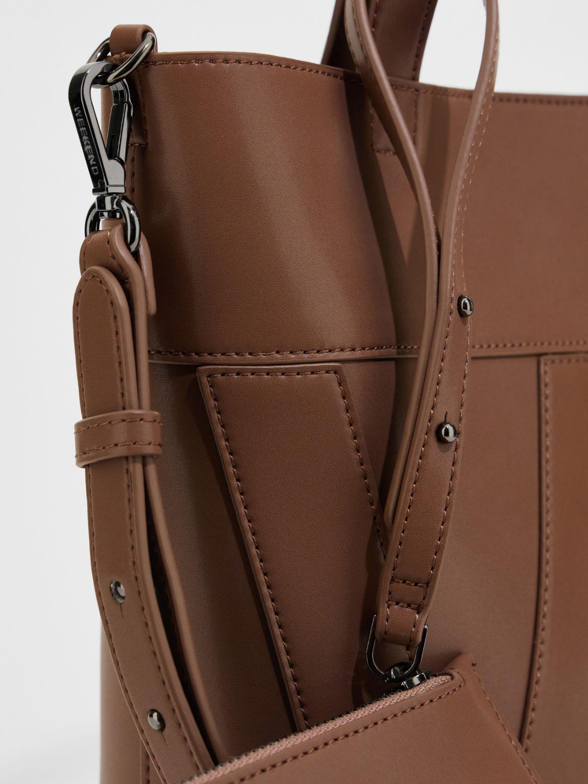 Leather shopper Weekend Maxmara