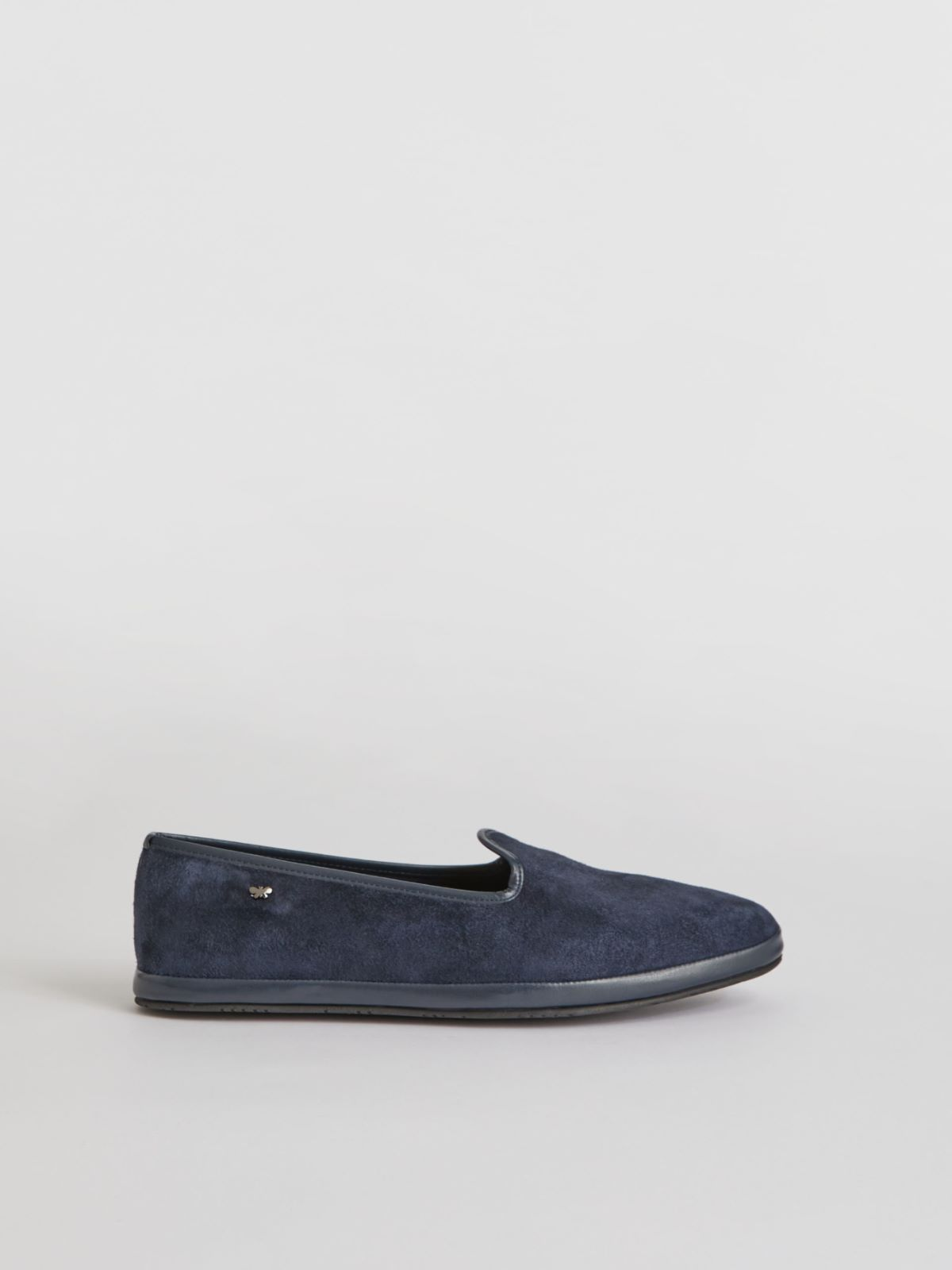 Suede leather loafers Weekend Maxmara
