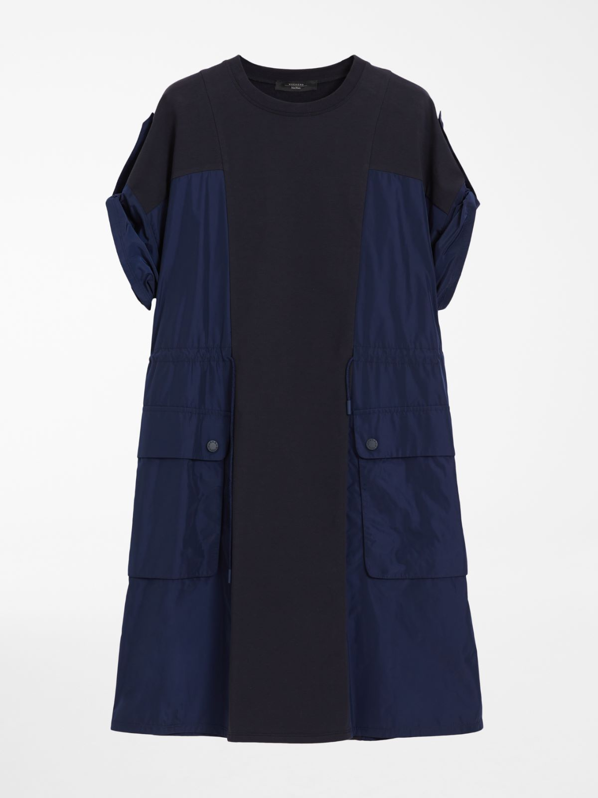 Cotton jersey and taffeta dress Weekend Maxmara