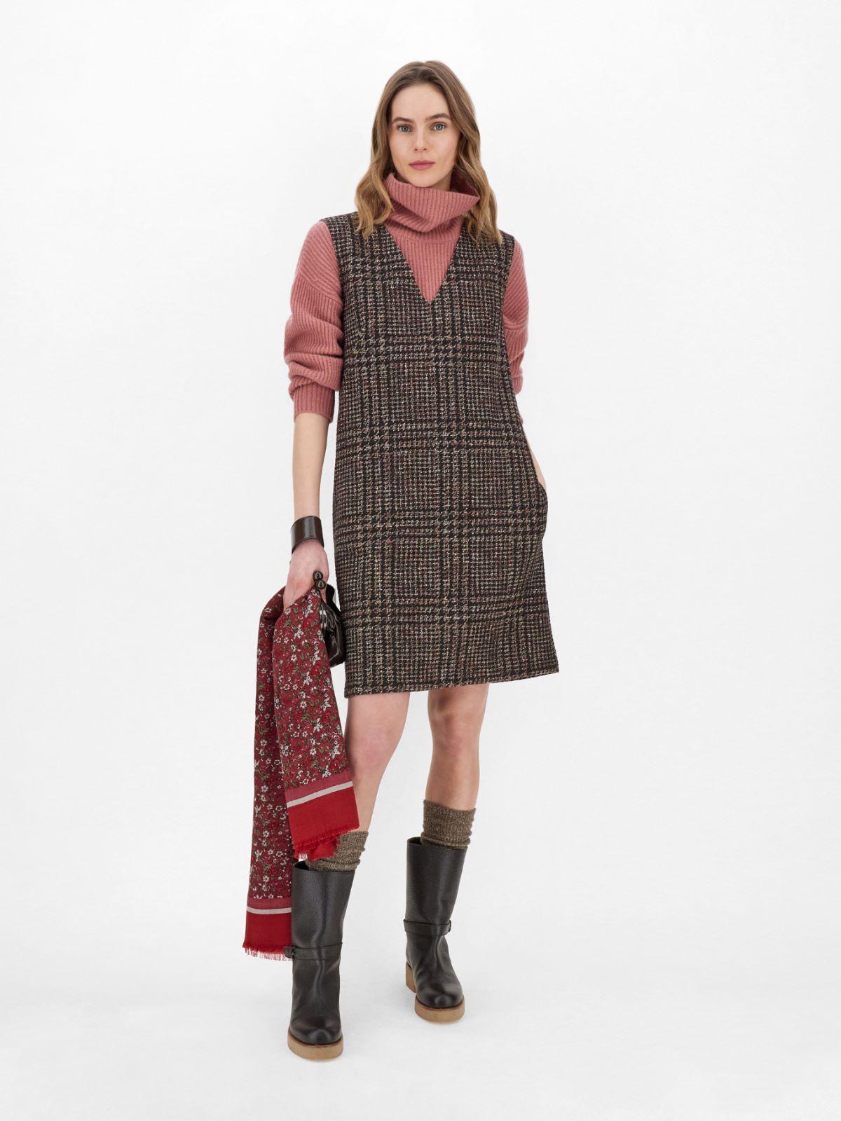 Wool-blend jersey dress Weekend Maxmara