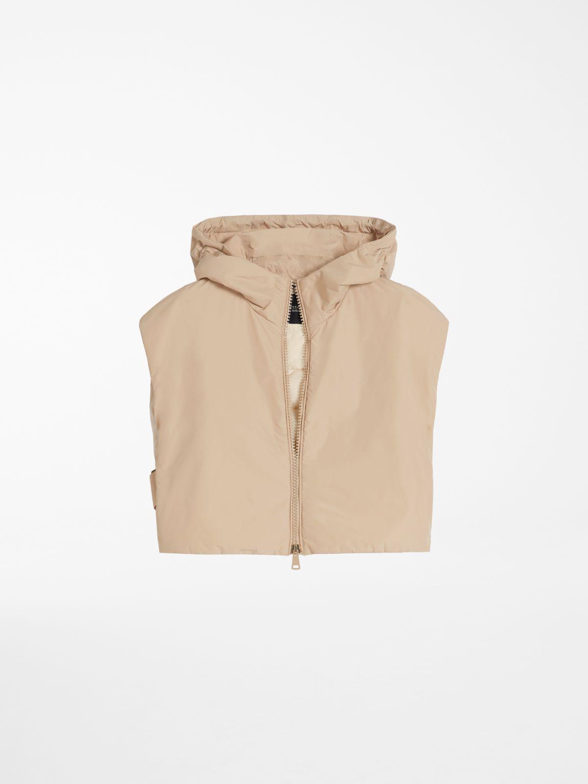 Water-repellent taffeta cape vest Weekend Maxmara