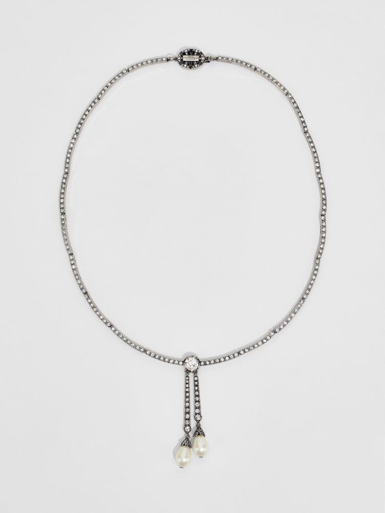 Bead and rhinestone necklace Weekend Maxmara