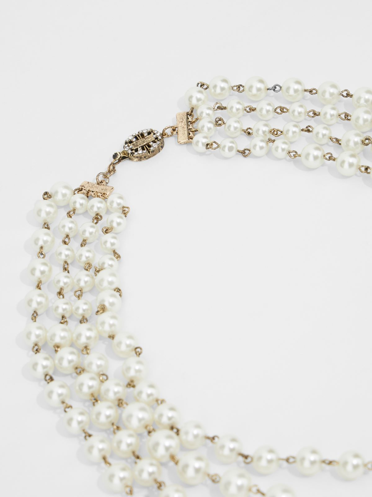 Multi-strand bead necklace Weekend Maxmara