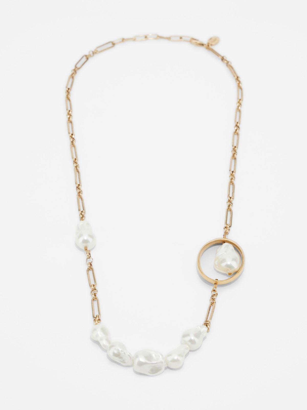 Geometric chain necklace Weekend Maxmara