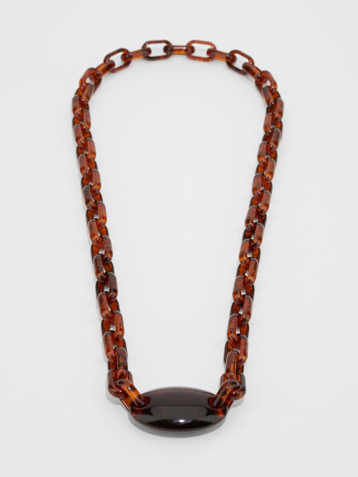 Beaded resin necklace Weekend Maxmara