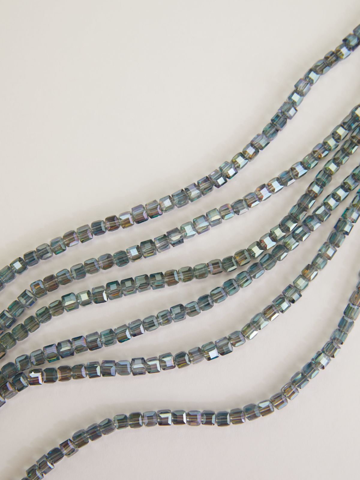 Multi-strand necklace with stones and rhinestones Weekend Maxmara