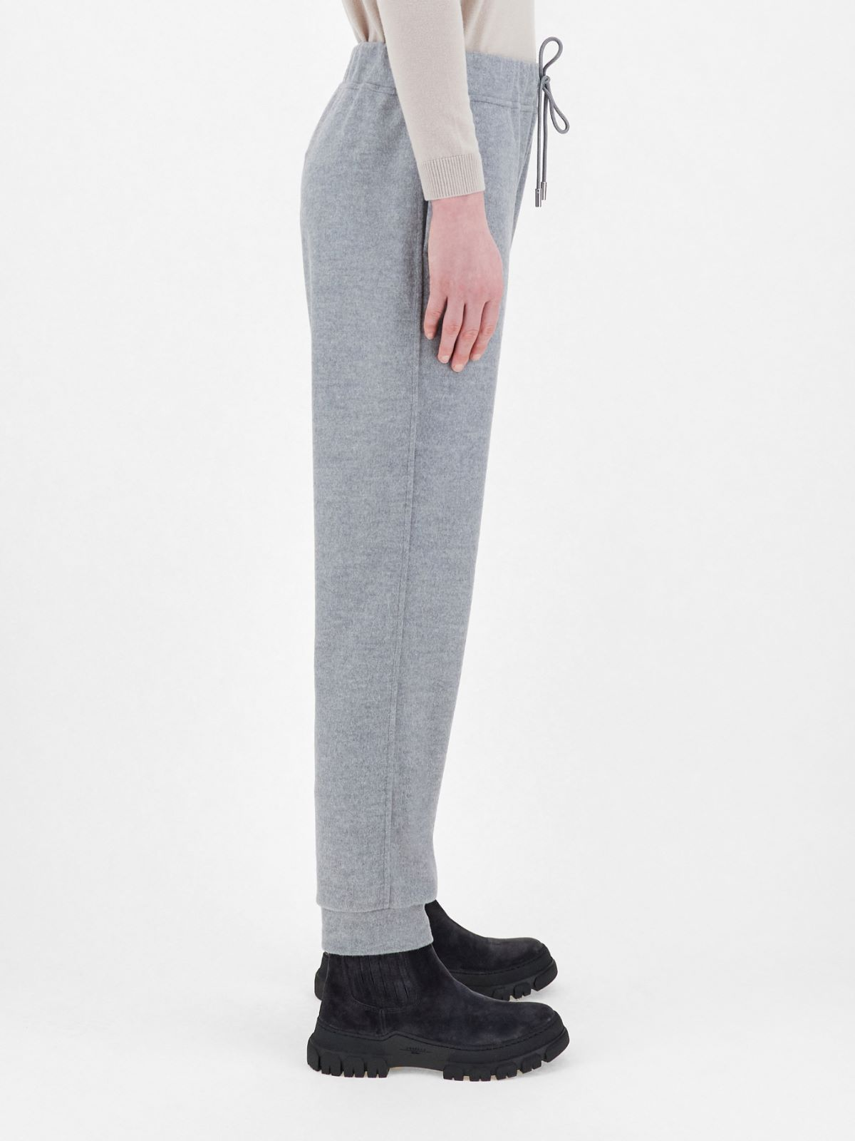 Wool-blend jersey trousers Weekend Maxmara