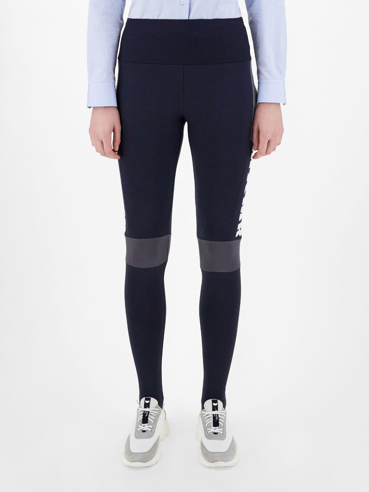 Technical cotton leggings Weekend Maxmara