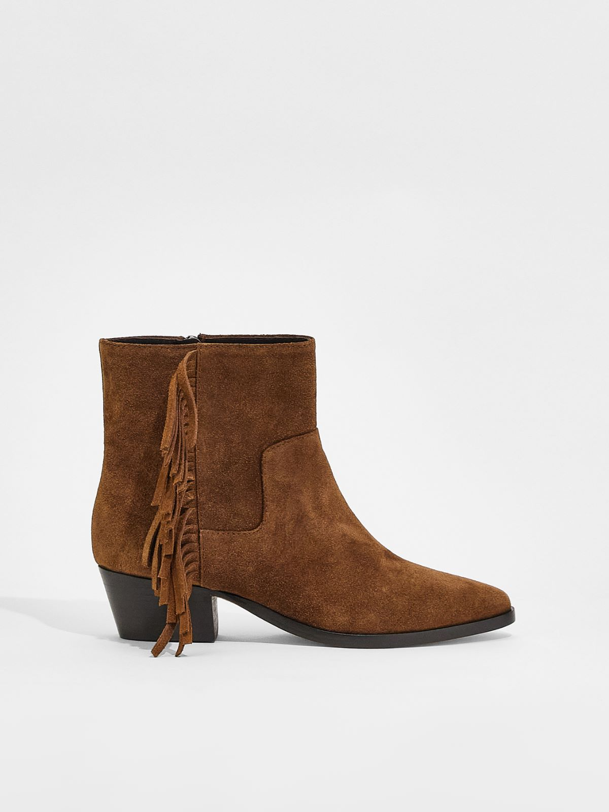 Suede leather ankle boots Weekend Maxmara