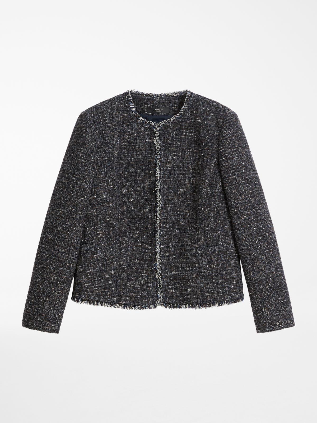 Cotton and wool jersey jacket Weekend Maxmara