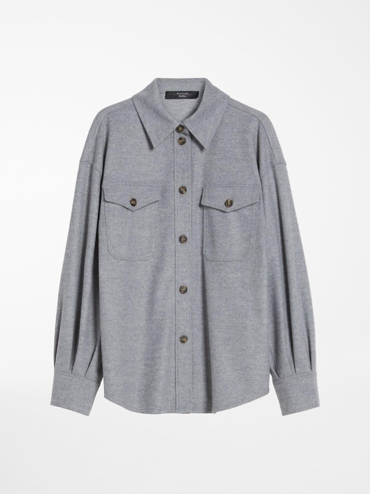 Wool-blend jersey shirt Weekend Maxmara